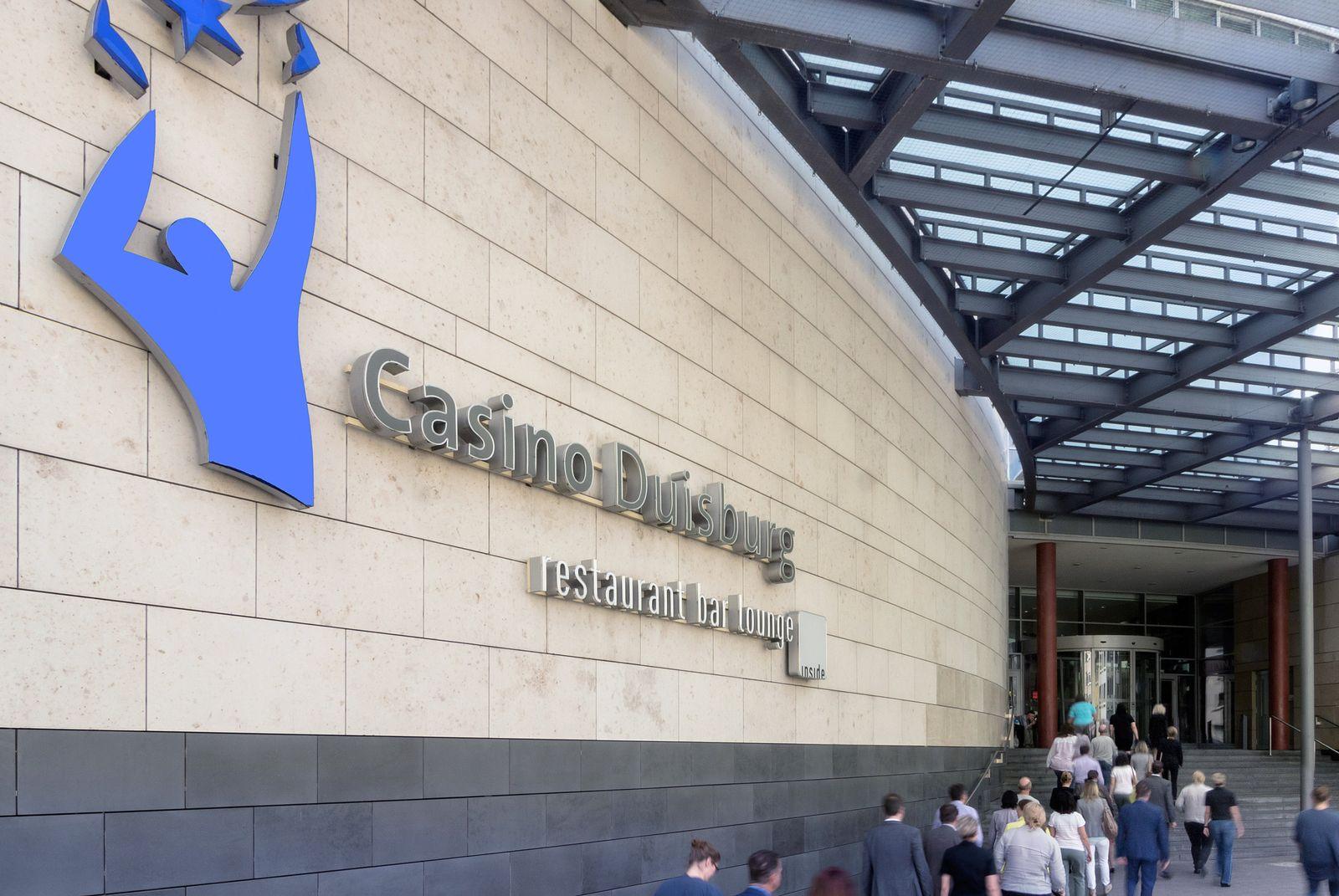 EINMALIGE VERWENDUNG Westspiel / Casino Duisburg