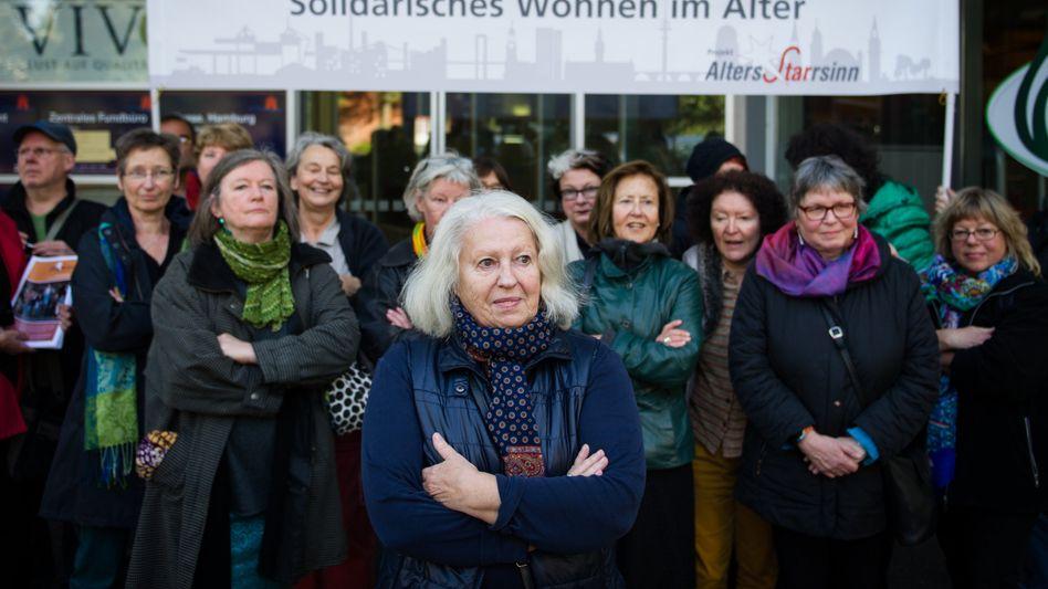 """Senioren in Hamburg: """"AltersStarrsinn"""" nennen sich die Aufmüpfigen"""