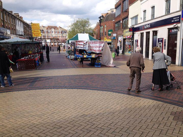 Markt in Grays: Erst Labour, dann Tories, nun Ukip?