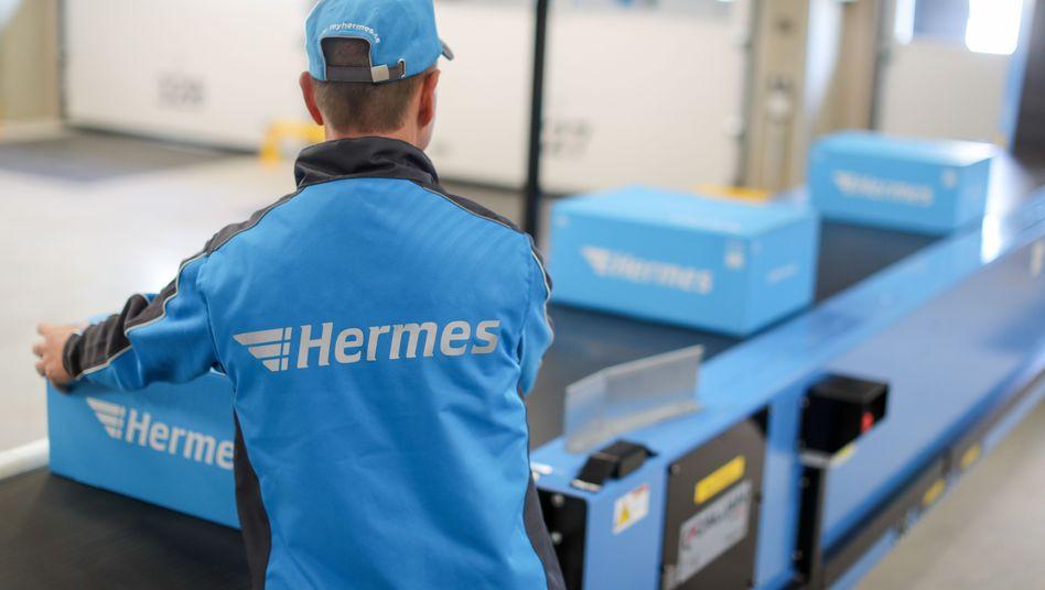 Logistikunternehmen wie Hermes stehen unter Druck