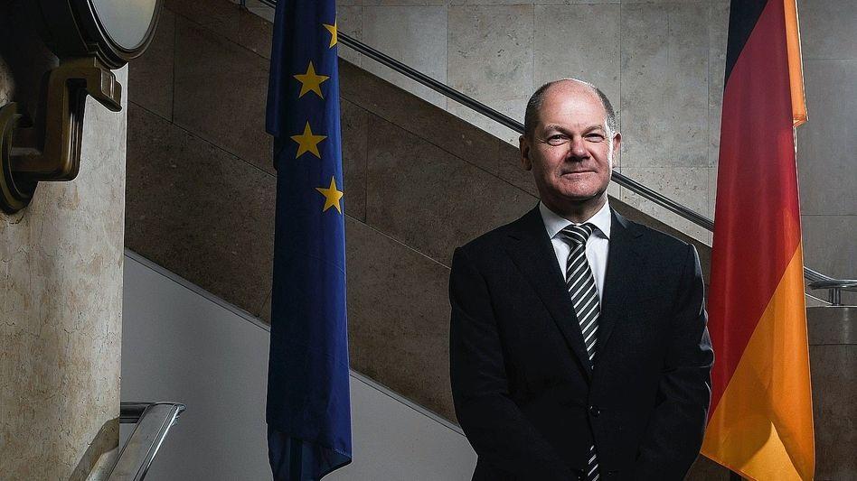 Minister Scholz: Kosmetische Korrekturen