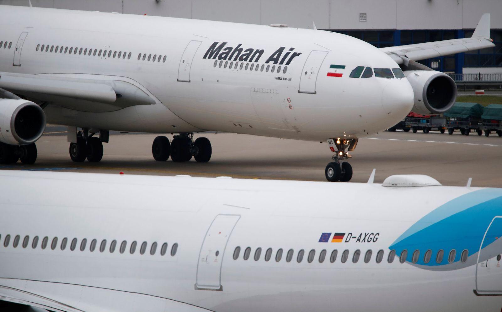 GERMANY-IRAN/AIRLINE