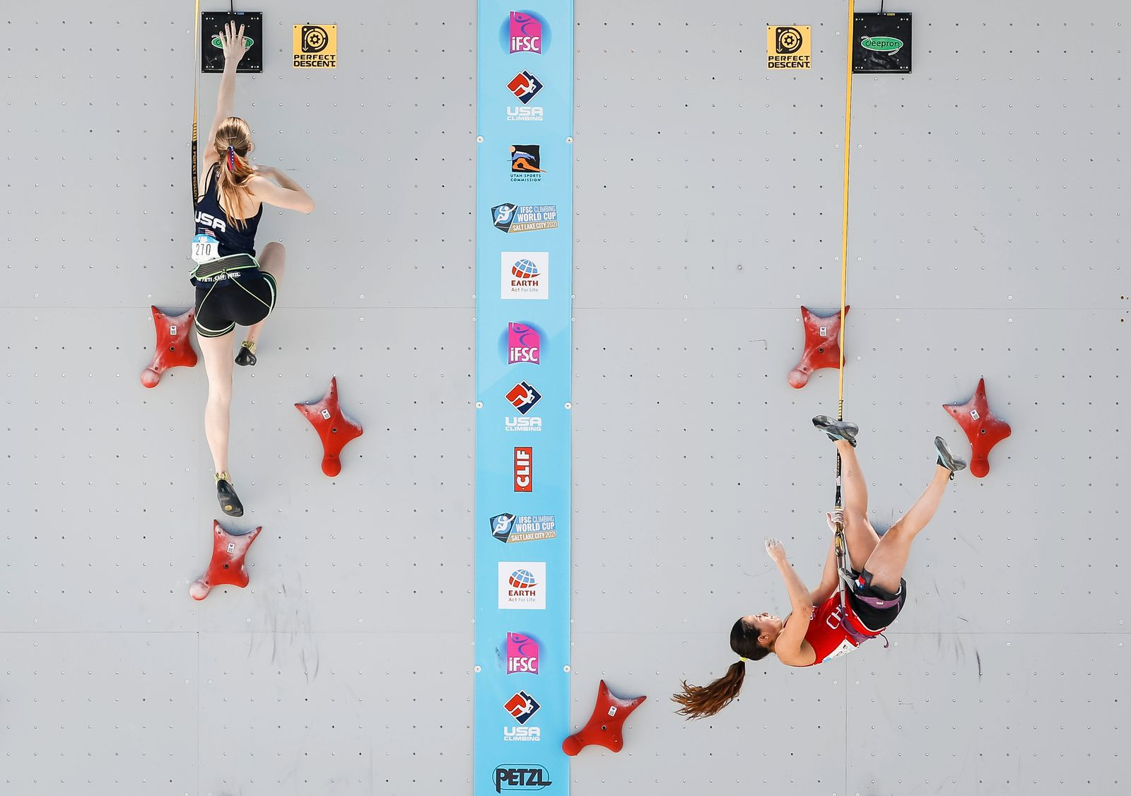 IFSC Climbing World Cup - Bouldering and Speed Climbing