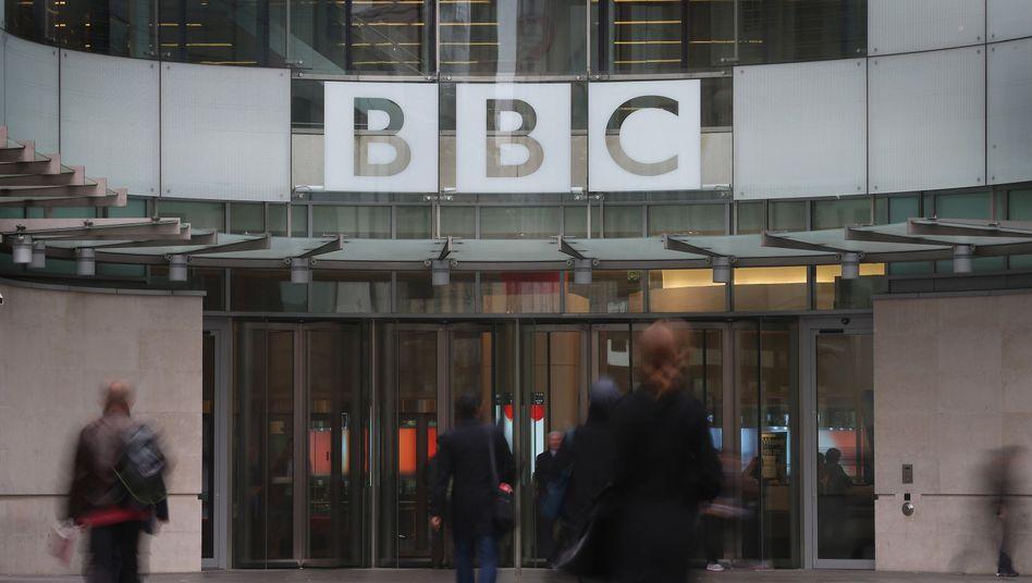 """Sitz der BBC in London: """"Reale oder potenzielle Gefahr für nationale Interessen, nationale Sicherheit und die Souveränität der Ukraine"""""""