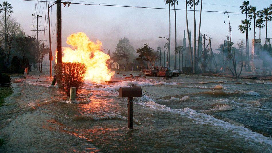 Northridge-Beben 1994: Der Schreck ist größer als die Schäden