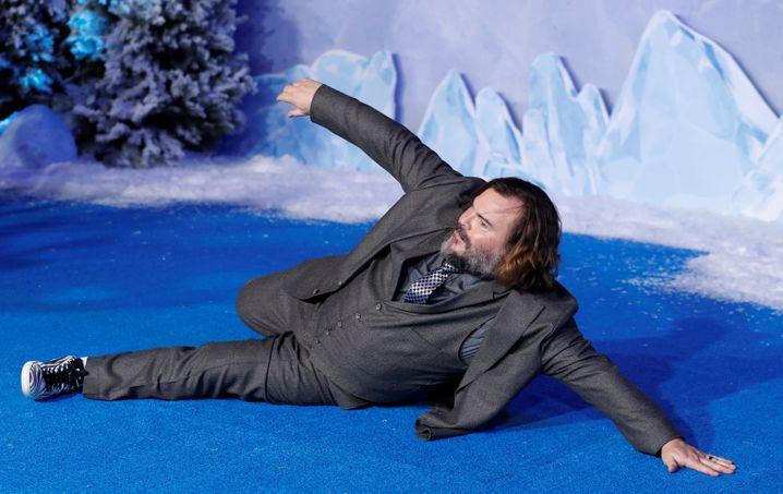 """Jack Black auf der Premiere von """"Jumanji: The Next Level"""""""