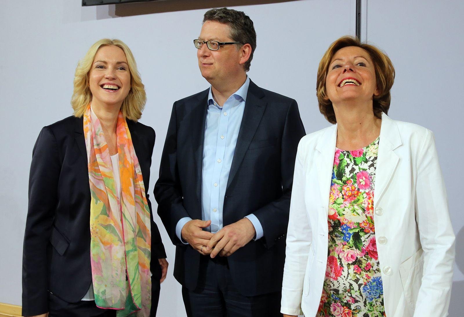 Manuela Schwesig/ Malu Dreyer/ Thorsten Schäfer-Gümbel