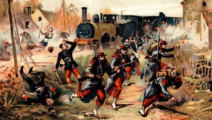 Deutsch-französischer Krieg: Hurra-Gebrüll und Todesangst