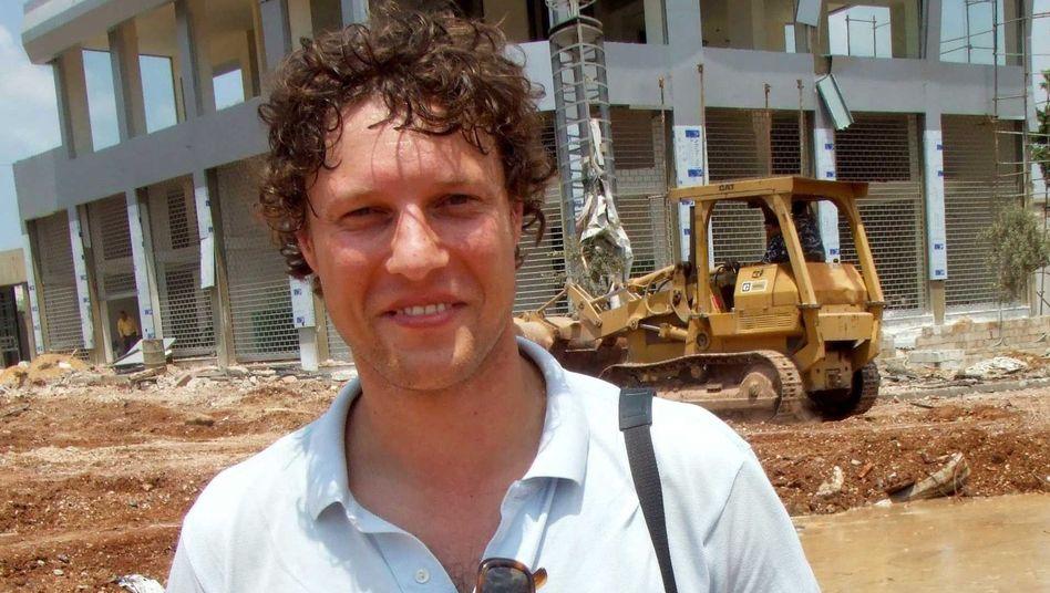 Journalist Jeroen Oerlemans