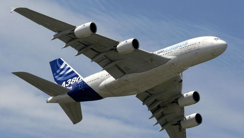 Airbus A380: Anschubfinanzierung hat Boeing geschädigt