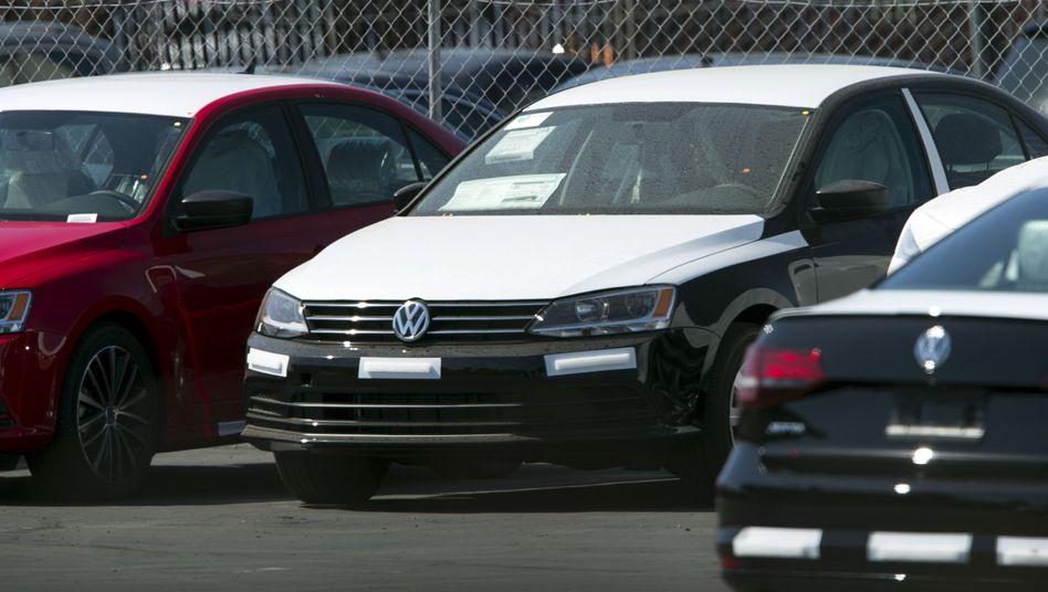 Volkswagen-Händler in den USA