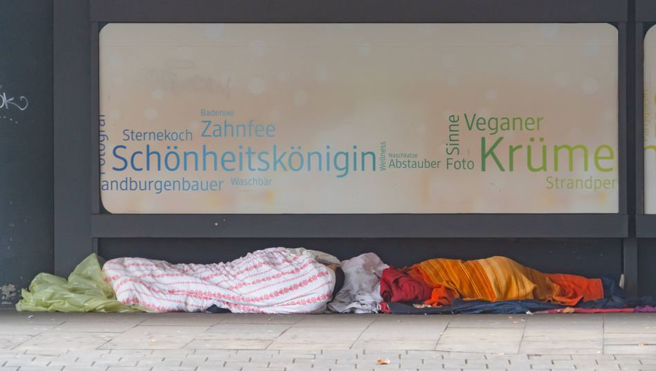 Obdachlose in der Hamburger Innenstadt: »Zustand nicht zumutbar«