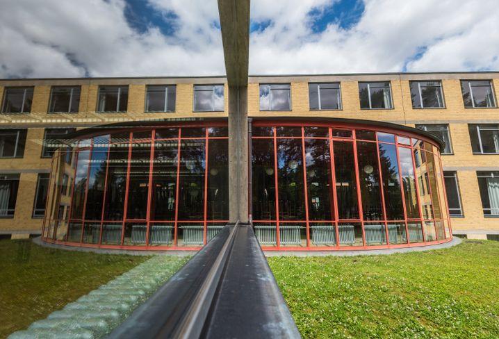 Gebäude der ehemaligen Bundesschule des Allgemeinen Deutschen Gewerkschaftsbundes, in Bernau (Brandenburg)