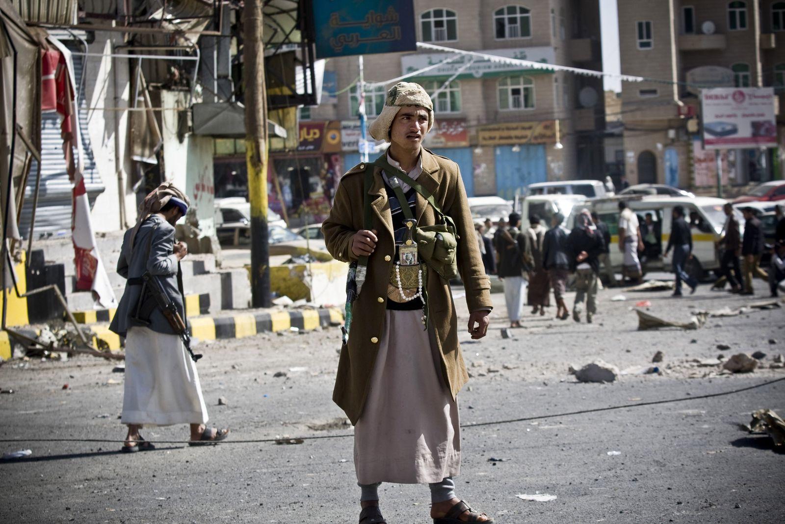 Houthi-Rebellen / Jemen