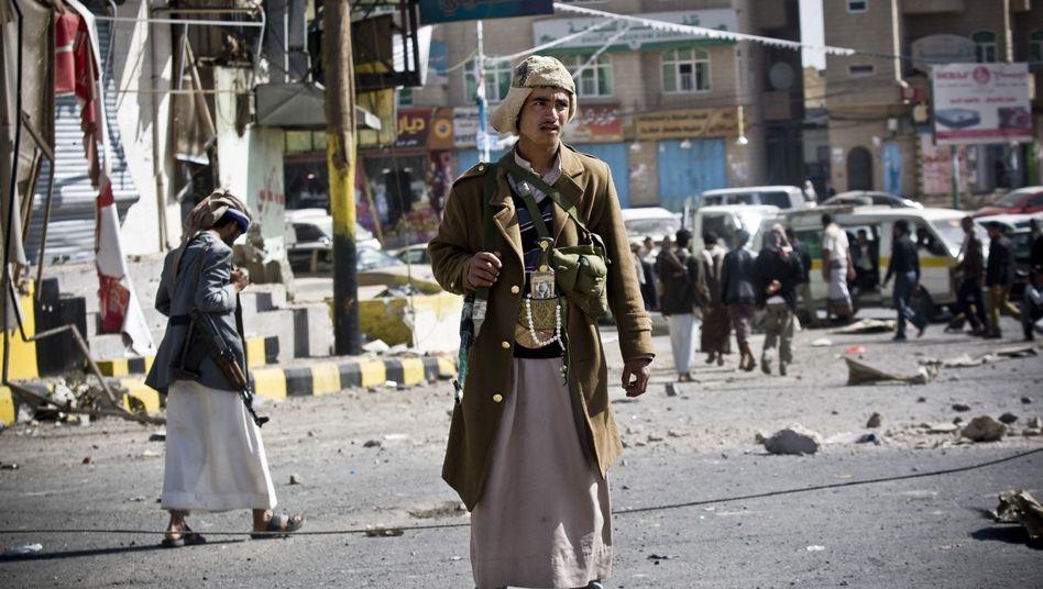 Huthi-Rebellen in Sanaa: Finaler Zugriff auf die Staatsmacht