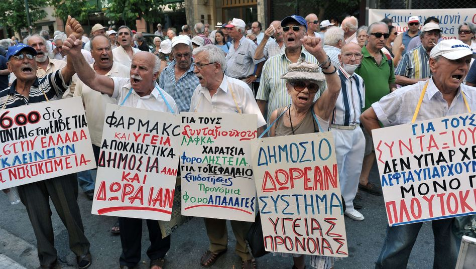 Greece has been straining under the austerity measures introduced by the government in Athens.