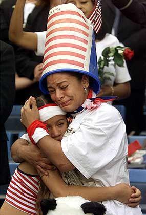 """Mehr als 20.000 Menschen nahmen am """"Prayer for Amerika"""" teil"""