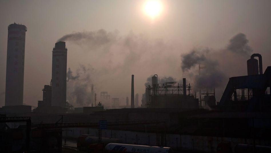 Chemiefabrik in Qianjiang