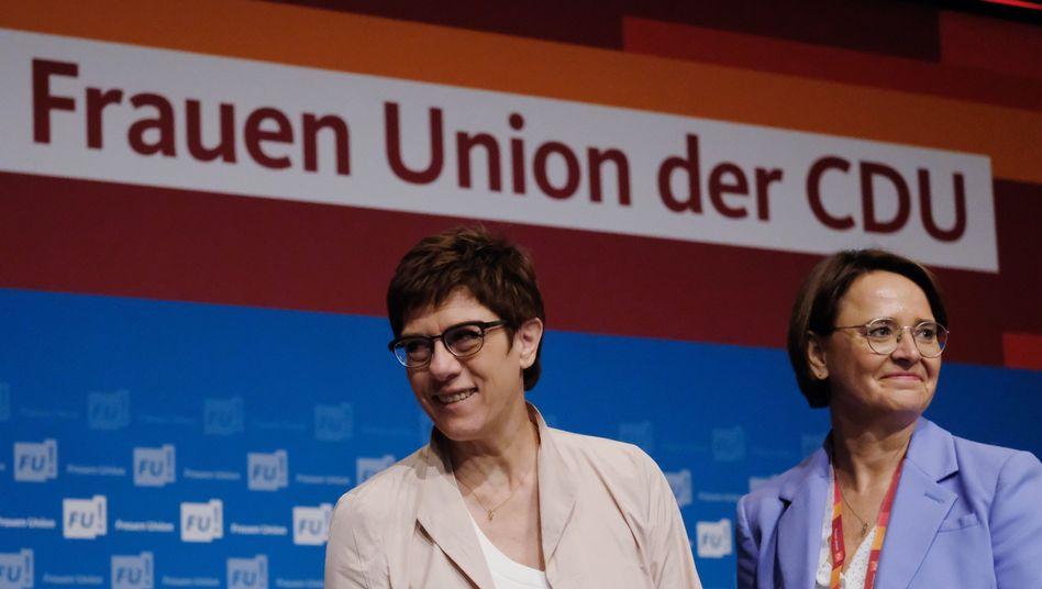 """Annegret Kramp-Karrenbauer und Annette Widmann-Mauz: """"Frauen sind die Hälfte der Gesellschaft, wir fordern, was uns zusteht"""""""