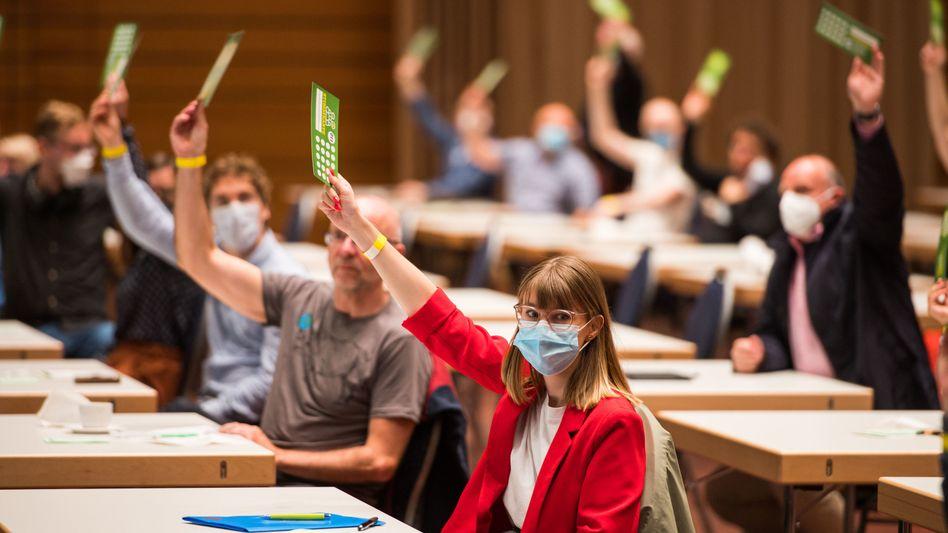 Spitzenkandidatin der Saar-Grünen: Jeanne Dillschneider