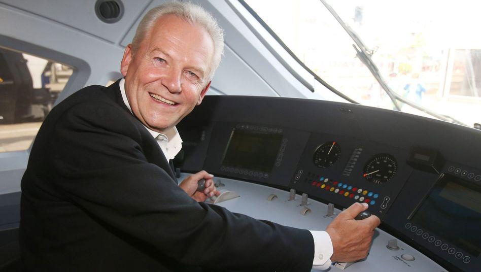 """Bahn-Chef Grube: """"Das muss sich der Vorstandschef schon zurechnen lassen"""""""