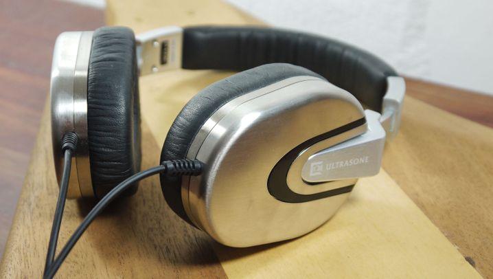 Kopfhörer im Test: Die Ultrasone Edition 8 in Bildern