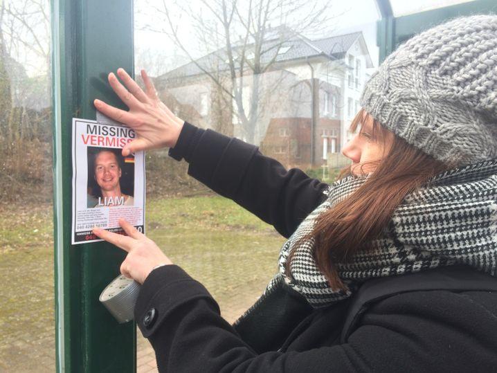 Melanie Paika hilft bei der Suche nach Liam