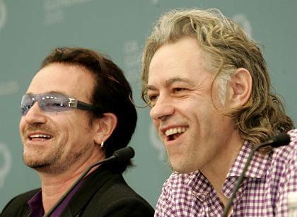 """Bono und Bob Geldof: """"Die Welt hat gesprochen"""""""