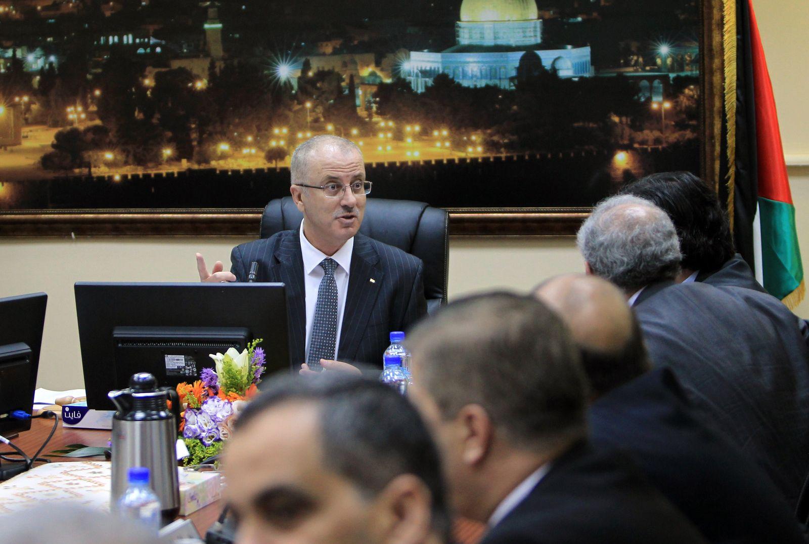 Unterstützung für Einheitsregierung der Palästinenser