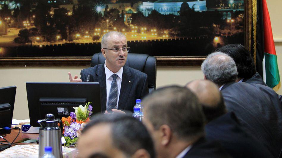 Palästinensischer Ministerpräsident Rami Hamdallah: Erste Sitzung mit neuem Kabinett