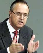 Bundesfinanzminister Hans Eichel