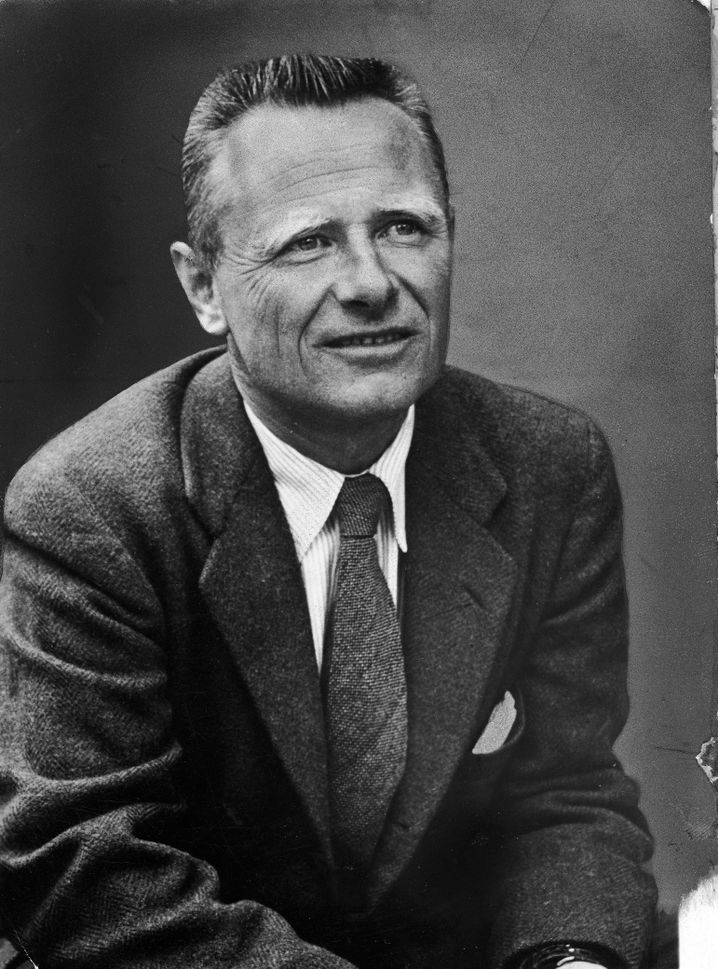 """A portrait of Isherwood dating from around 1950: The English writer's relationship with painter Don Bachardy in part inspired """"A Single Man,"""" widely considered to be his most important novel."""