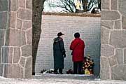 Estonia-Gedenkstätte in Stockholm