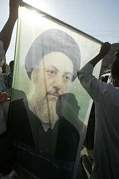 Trauer in Kerbala: Portrait von al-Hakim