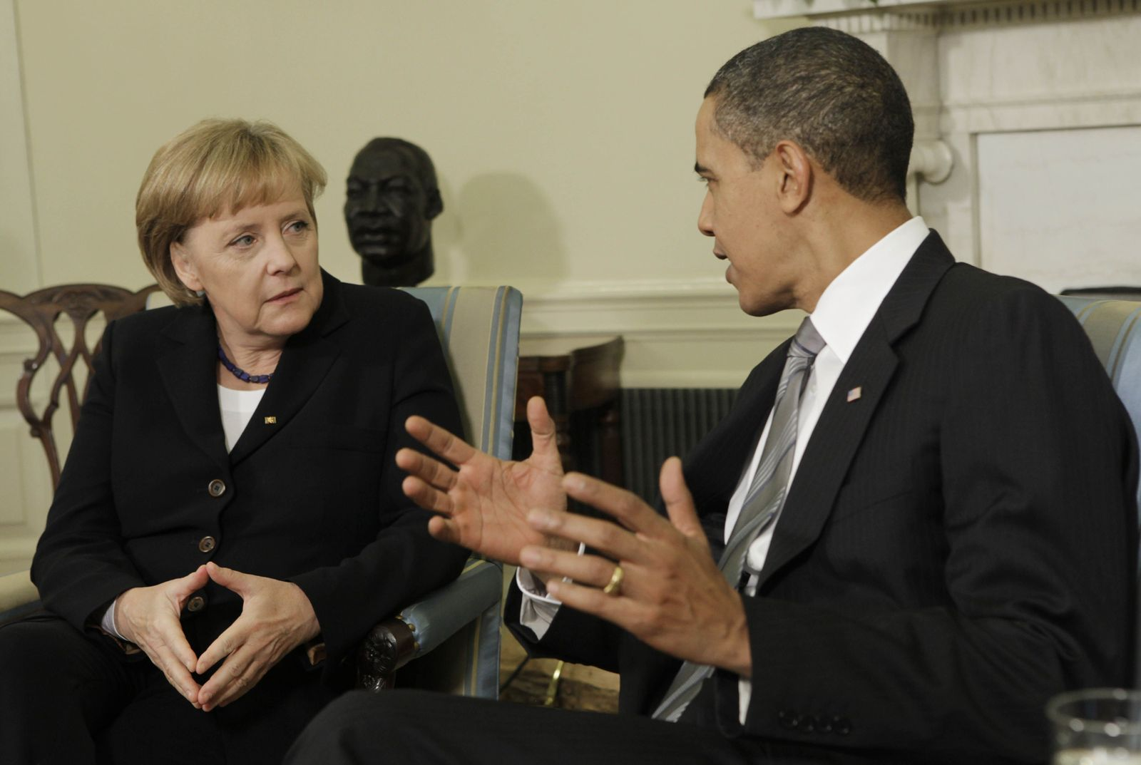 Merkel/ Obama