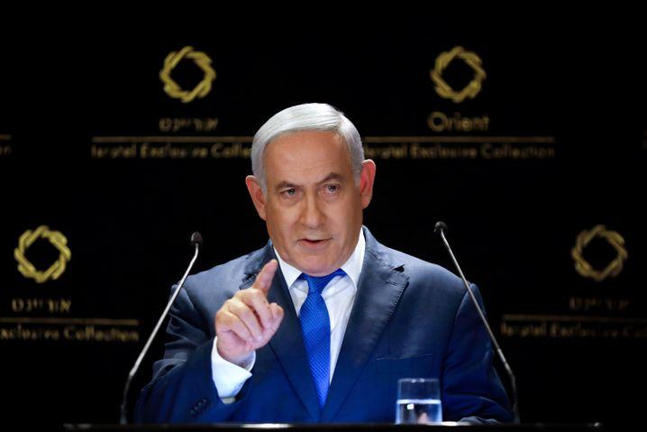 Israels Premierminister Benjamin Netanyahu