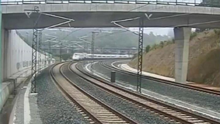 """Zugunglück bei Santiago de Compostela: """"Das war der Aufprall"""""""