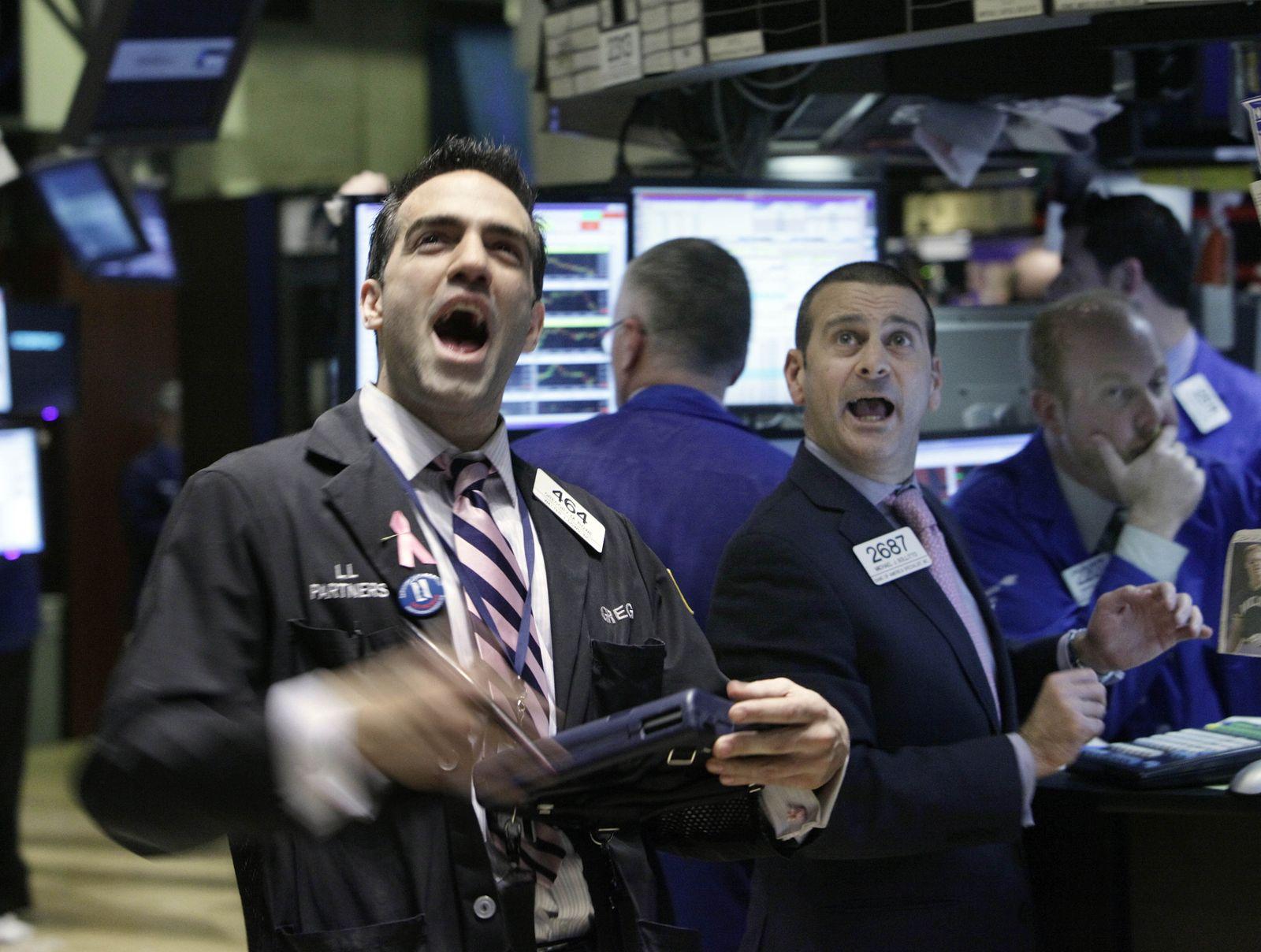 Börse Wall Street Spekulanten