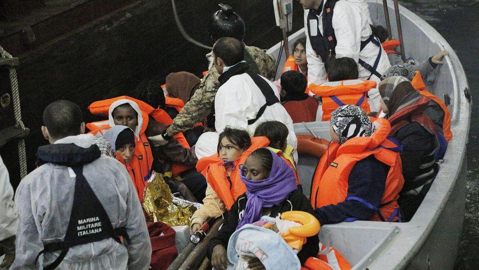 Gerettete Flüchtlinge im Mittelmeer: Solidarität beim EU-Gipfel