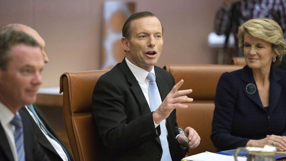 """Tony Abbott: """"Das ist sehr besorgniserregend"""""""