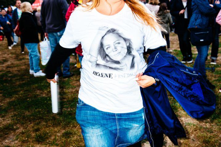 Fan-Shirt in Leipzig: Helene, das Überthema