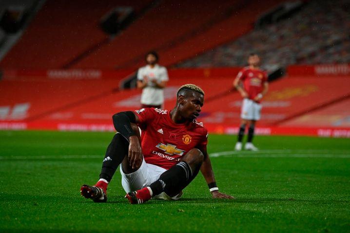 Pogba nach seinem elfmeterwürdigen Foul