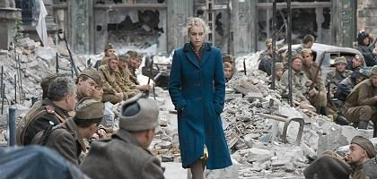 "The film ""A Woman in Berlin,"" staring Nina Hoss, opens in Germany this week."
