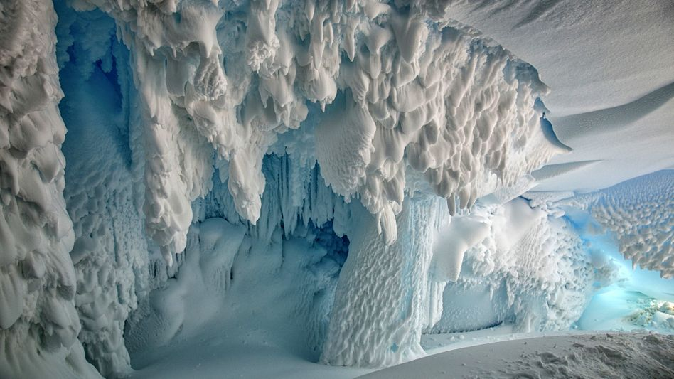 Gletscherzunge in der Antarktis (Symbolbild)