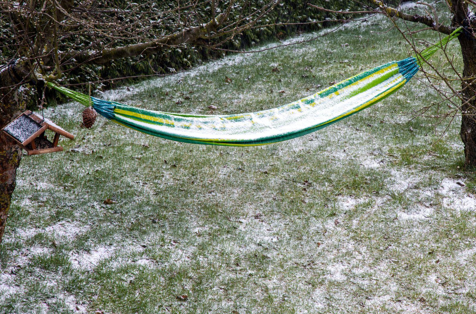 Schneefall in Norddeutschland