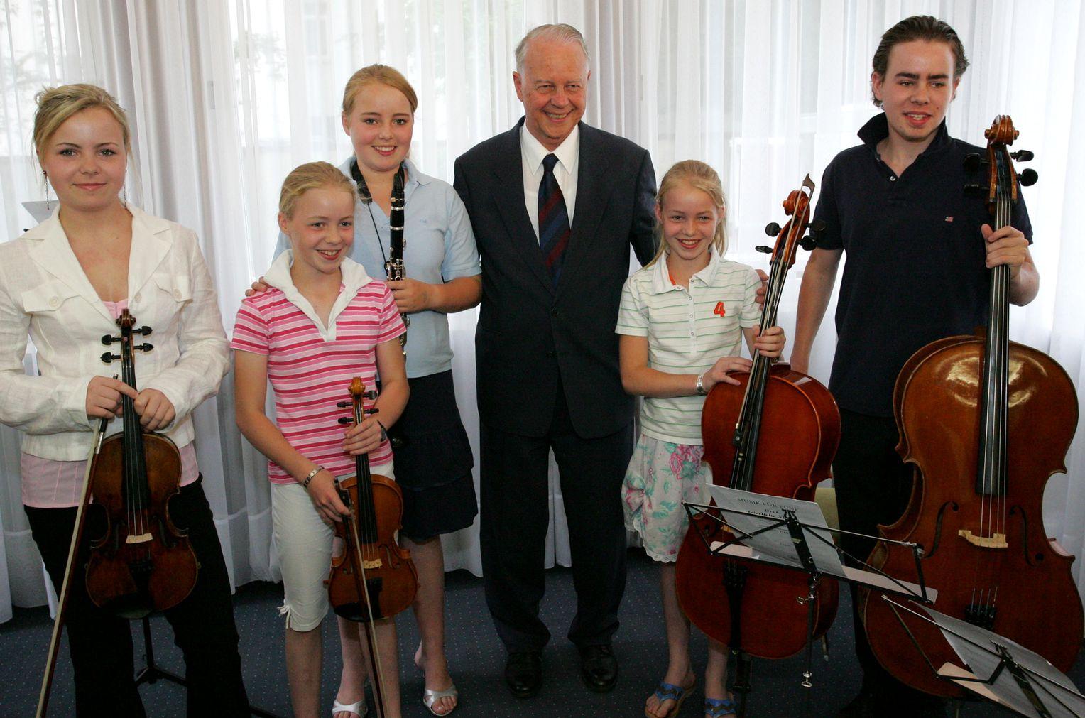 Ernst Albrecht Kinder