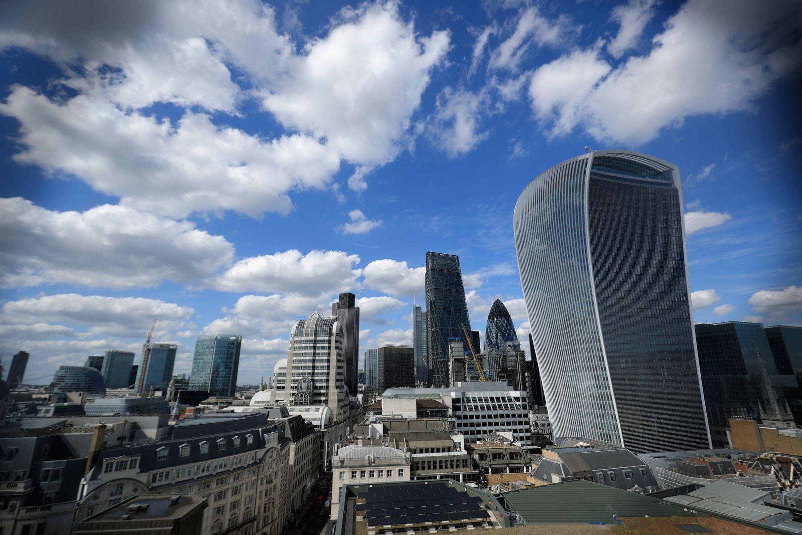 London / Büroviertel / Bürogebäude