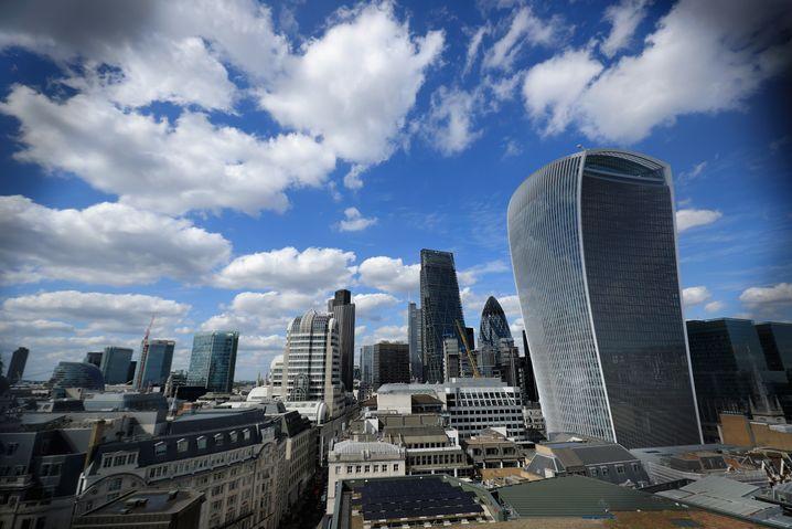 Büroviertel in London