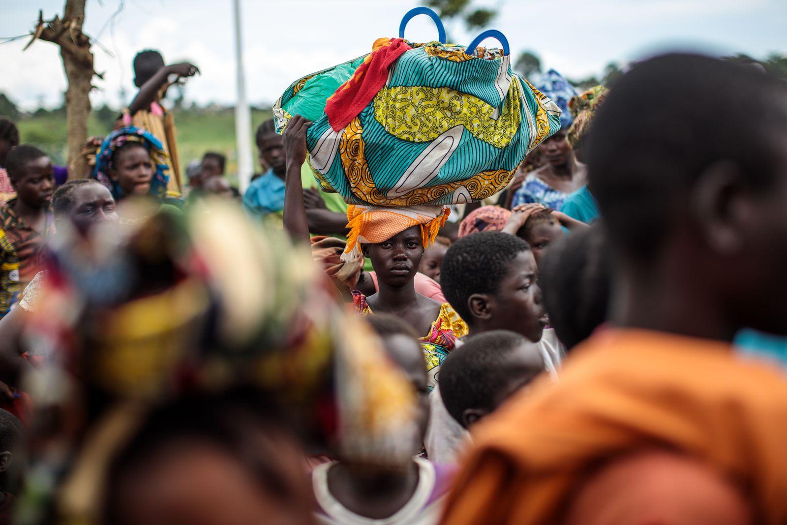 Flüchtlinge Uganda UNHCR KOngo