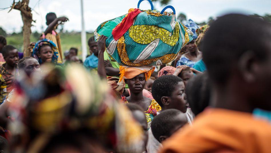Flüchtlinge aus der Demokratischen Republik Kongo in Uganda